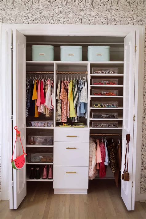 How To Organize Tiny Closet by How To Organize A Baby Closet With The Home Edit A