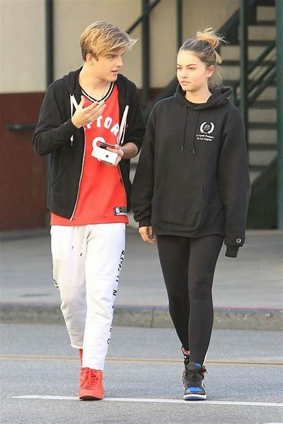 Thylane Blondeau Boyfriend Los Angeles Spotted While
