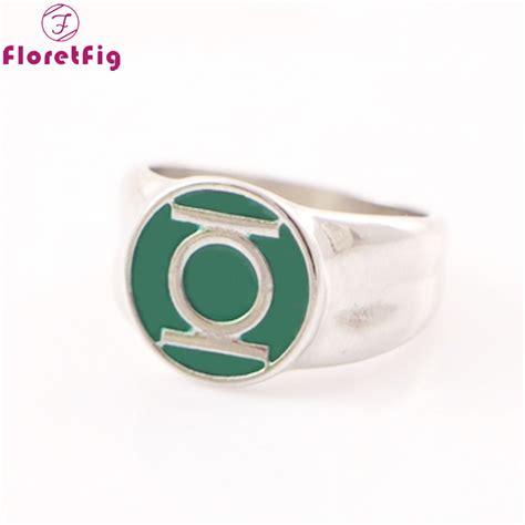 buy dc comics green lantern ring silver