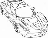 Ferrari 458 Drawing Getdrawings Coloring Pages sketch template