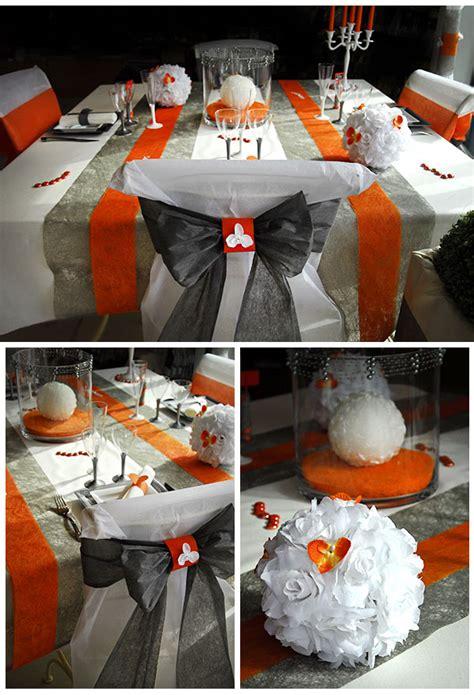 deco chaise mariage housse de chaise mariage discount avec noeud orange ou