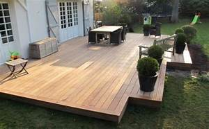 construire sa terrasse en bois composite wasuk With faire sa terrasse en bois