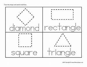 shape tracing worksheets free worksheets library With shape tracing templates