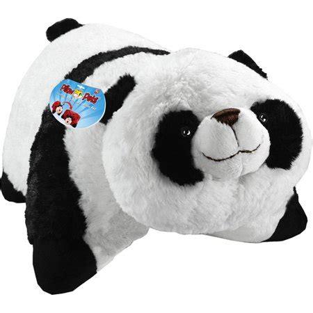 pillow pets wee as seen on tv pillow pet wee comfy panda walmart