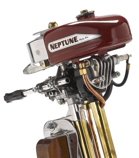 Japanese Outboard Boat Motors by Vintage Neptune Outboard Motor