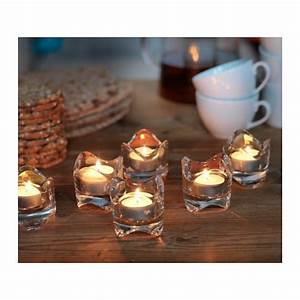 vasnas tealight holder clear glass 6 cm ikea With kitchen cabinets lowes with ikea tealight candle holders