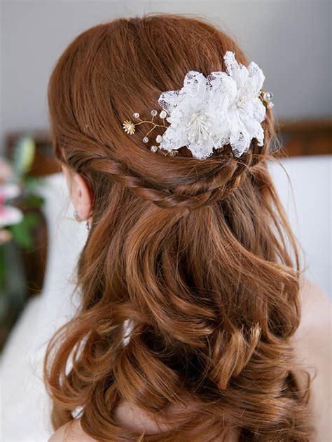 wedding hairstyles for long hair circletrest