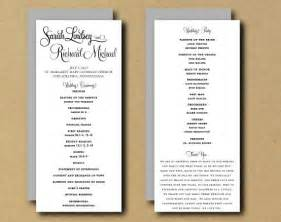 wedding program templates sale printable wedding program template whimsical