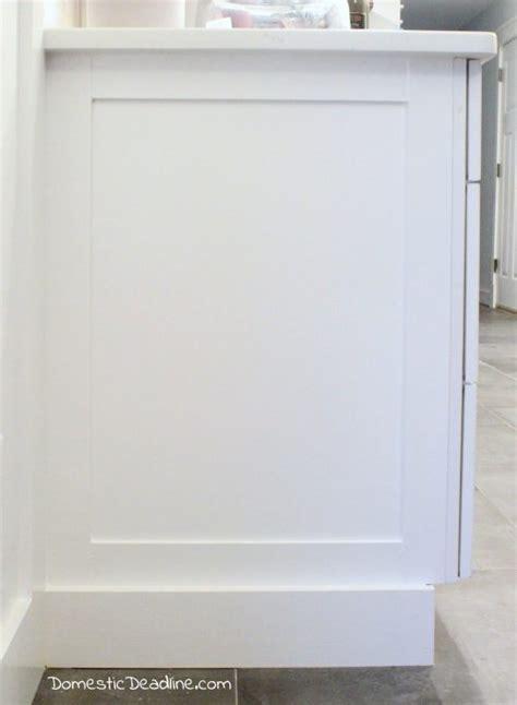 kitchen cabinet end panels diy cabinet end panels domestic deadline