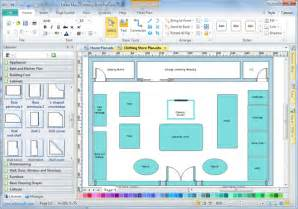 software design software store layout software edraw