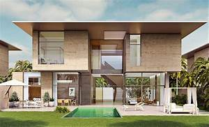 Modern, Home, In, A, Dubai, Resort