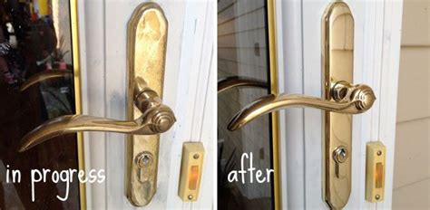 rescue cheap plated brass door hardware blue