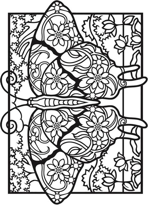creative haven fantasy butterflies coloring book 5