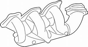 Pontiac Grand Prix Exhaust Manifold  Federal  Liter  Right