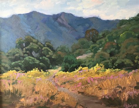 original landscape oil paintings  kathleen  robison