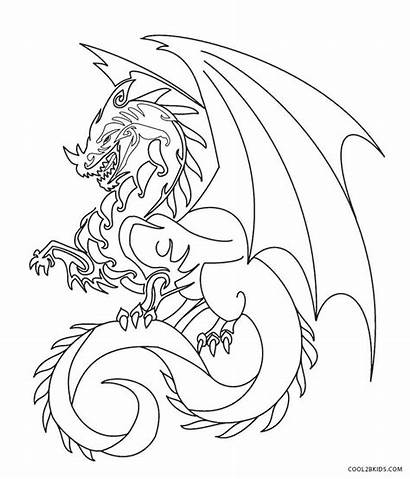 Dragon Coloring Pages Printable Cool2bkids