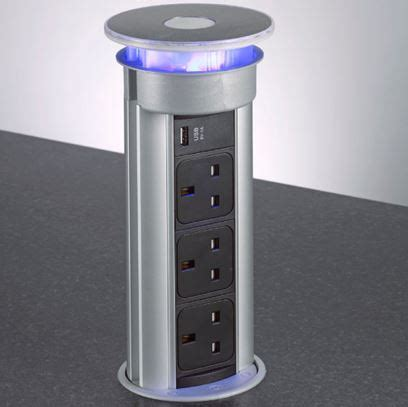 Pop Up Kitchen Sockets   BPF