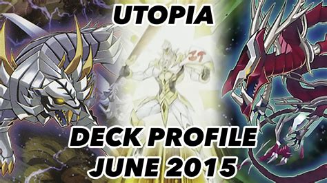 Yugioh Nordic Deck List 2015 by Utopia Deck Profile June 2015 Post Cros Funnydog Tv