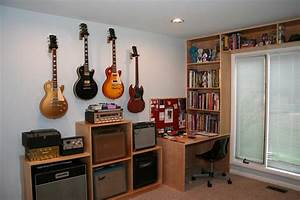 Wall Hanging Guitars - What Spacing? The Gear Page