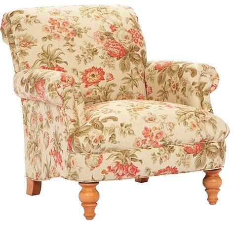 broyhill traditional curved back accent chair