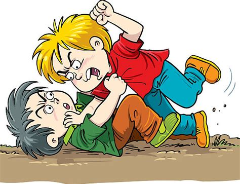 Fighting Clipart Children Fighting Clipart 101 Clip