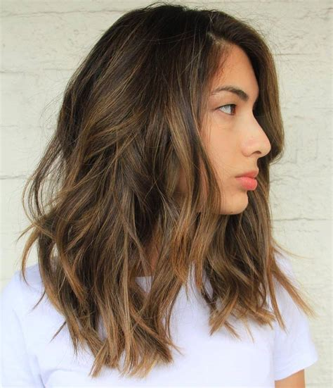 brown hair with light brown highlights 60 balayage hair color ideas with brown caramel