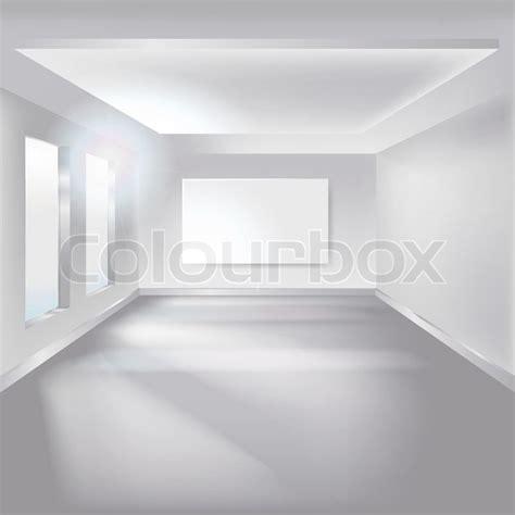 Leerer Raum  Vektorgrafik Colourbox