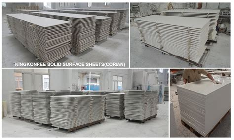 Korean Solid Surface ,white Artificial Stone Acrylic