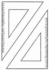 Ruler Coloring Pages sketch template