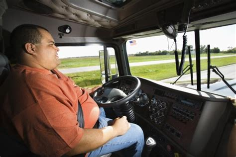 Truckers Top List Of Obese Workers, Study Says
