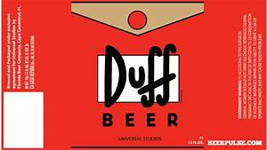 Duff beer labels approved florida beer company revealed for Duff beer label