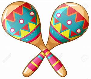 Toy clipart maraca - Pencil and in color toy clipart maraca