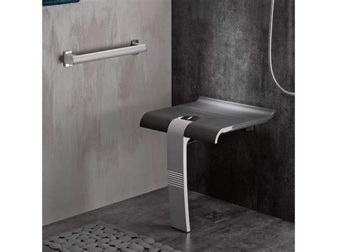 sedili doccia sedile da doccia design15 grigio antracite grigio opaco
