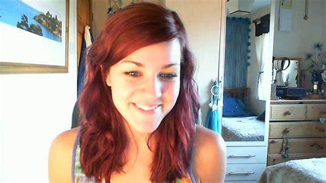Red Hair, Using L'oréal Casting Crème Gloss Mahogany