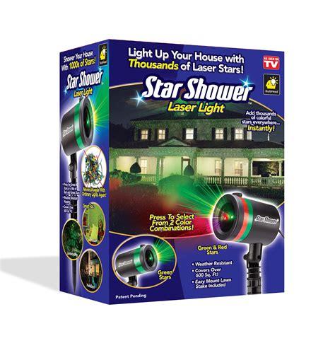 tv star shower laser light