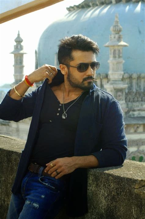 Coogled Actor Surya's Anjaan Movie Latest Hairstyle Pictures