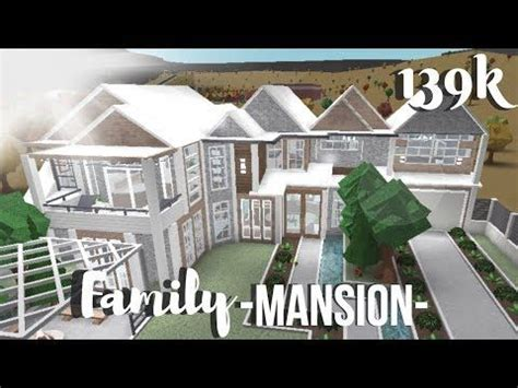 roblox bloxburg family mansion youtube mansions family house plans diy house plans