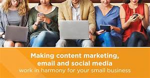 Understanding content, social and email Marketing ...