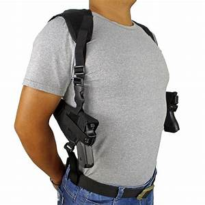 Concealed Carry Double Draw Shoulder Gun Holster