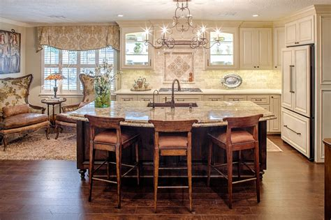 best kitchen layouts with island popular kitchen island layout ideas railing stairs and