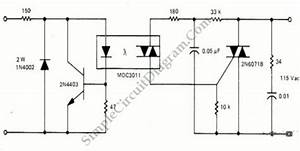 Solid State Relay  Ssr  With Optocoupler And Triac