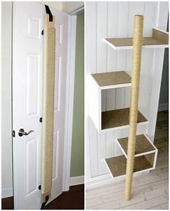 Jouets Pour Chats D Appartement : comment construire un grattoir pour chats cat towers ~ Melissatoandfro.com Idées de Décoration