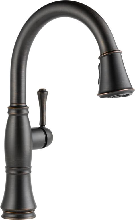 kitchen faucets amazon delta faucet 9197 ar dst cassidy single handle pull