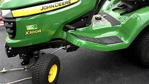 John Deere X300r Tractor U0026 39 S Mower Belt Replacement