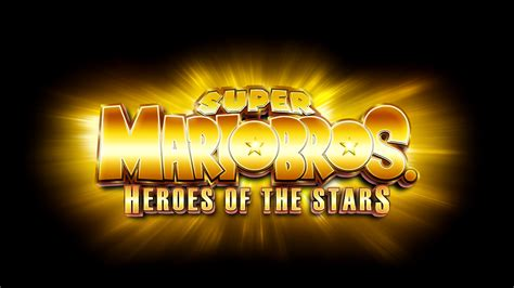 Super Mario Bros Heroes Of The Stars Logo By Mauritaly On