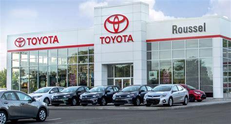 toyota dealership deals roussel toyota toyota dealership in miramichi