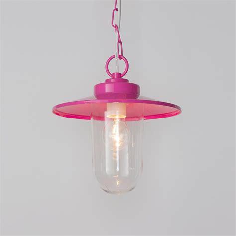 vancouver 1 light pendant ceiling light pink from litecraft