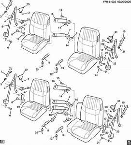 Chevrolet Impala Bracket  Seat Belt  Bracket  P  Seat Belt