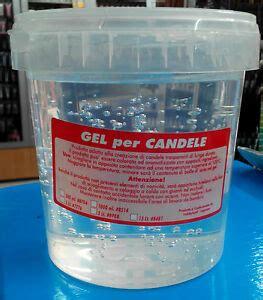 gel per candele cera gel per candele lt 1 trasparente