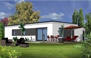Plan Pour Maison : la maison plain pied moderne ~ Melissatoandfro.com Idées de Décoration
